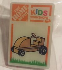 NEW THE HOME DEPOT KIDS WORKSHOP RIDING LAWN MOWER PIN COLLECTIBLE RARE