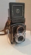 Vintage Yashica Model 635 TLR 80mm with Original Leather Strap Made in Japan