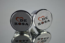 New De Rosa Handlebar End Plugs Bar Caps vintage guidon bouchons calotte tappo