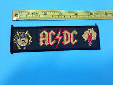 Ac Dc vintage 80s sew on patch