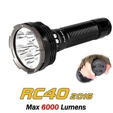 Fenix RC40 new 2016 Upgrade with a massive 6,000 Lumens with 2 Year UK Warranty.