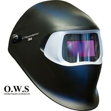 "3M Speedglas 100V Series Welding Helmet ""Black"" Variable Shade 3 / 8-12"