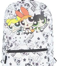 Cartoon Network Powerpuff Girls Blossom, Bubbles, Buttercup Backpack Book Bag