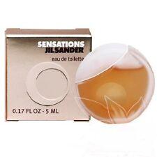 JIL SANDER SENSATIONS 0.17 oz / 5 ML EDT Splash Miniature Women - NEW IN BOX