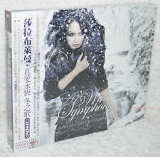 Sarah Brightman A Winter Symphony Taiwan Ltd CD+DVD (digipak)