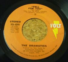 Single The Dramatics Feel for you / Now you got me loving you VOLT