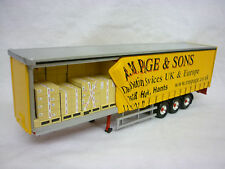 Corgi Modern Truck/Heavy Haulage R.M Page Open Curtainside Trailer Only