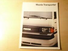 49638) Mazda E 2000 Prospekt 02/1992