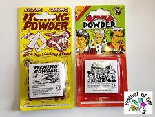 Practical Jokes: Itching Powder & Fart Powder ~ Classic Retro Joke