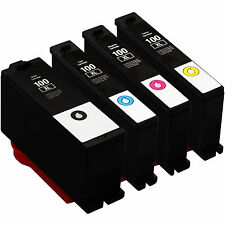 4 Pack 100XL Ink Cartridges for Lexmark Prevail Pro705 Prospect Pro205 Printer