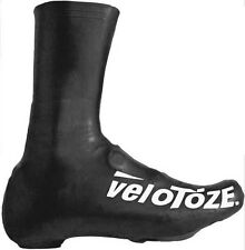 VeloToze Road Racing Bike Bicycle Tall Overshoes Black UK 4.5-6.5 EU 37-40