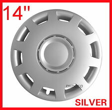 "FIAT 500 14"" Wheel trims  4x14"" full set BRAND NEW   silver 14''"