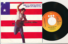 """BRUCE SPRINGSTEEN 45 TOURS 7"""" HOLLANDE BORN IN THE USA"""