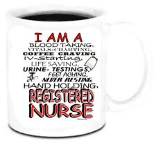 11 oz Coffee Mug Cup I Am A Registered Nurse