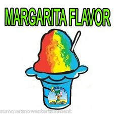MARGARITA MIX Snow CONE/SHAVED ICE Flavor QUART #1 CONCESSION SUPPLIES