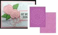 Sizzix embossing folders DOILY & ROSES embossing folder set 658517 Flowers