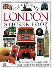 El último libro de pegatinas de Londres por Dorling Kindersley Ltd (libro en rústica, 1998)