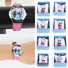 Gift Child Watch Disney Princess Frozen Elsa/Anna Quartz New Wristwatch Xmas 1pc