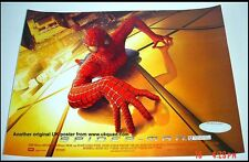 SPIDERMAN  POSTER ORIGINAL 2003 STUDIO ISSUED UK MINIQUAD 16X12 ins
