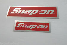 NEW Genuine Official Snap On Tools 2 Piece Decal Sticker Set #15 - FREE S/H