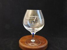 "Martell Cordon Bleu ""Blue Vein"" Fine Glass Footed Cognac Glass"