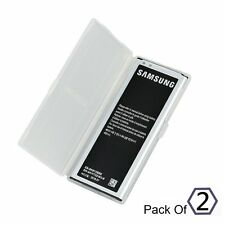New Replacement Battery for Samsung Galaxy Note 4 N910 N910P N910T - Pack of 2