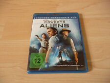 Blu Ray Cowboys & Aliens - Daniel Craig & Harrison Ford - 2011/2012