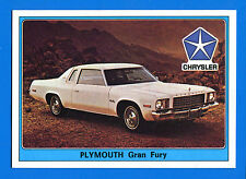 SUPER AUTO - Panini 1977 -Figurina-Sticker n. 80 - PLYMOUTH GRAN FURY -New