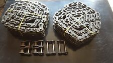 Whitney Renold 160-2 Cotter Roller Chain 20ft. Total w/connector links 2 Strand