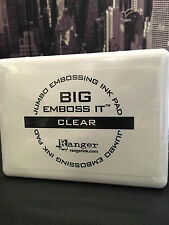 Ranger EMBOSS IT CLEAR Embossing Ink Stamp Pad #3 JUMBO Size