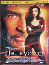 Affiche HAUTE VOLTIGE Entrapment SEAN CONNERY Catherine Zeta-Jones 40x60*D