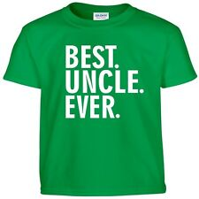 Best UNCLE Ever Funny Fathers Day Birthday Christmas Daddy Dad Gift Tee T Shirt