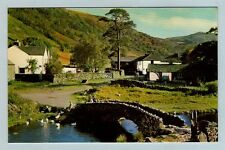 Lake District Postcard - Watendlath Bridge, Borrowdale - Gomis of Keswick LKD352