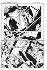 MARVEL BLACK PANTHER #8 PAGE 12 ORIGINAL ART by WILL CONRAD