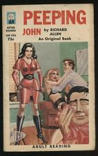 Peeping John - Richard Allen After Hours AH103 - First Niter GGA 1964 Lesbian
