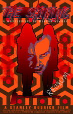 "The Shining Kubrick ""Redrum. Redrum. REDRUM! "" 11 x 17 High Quality Poster"