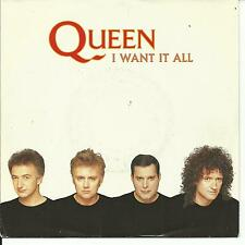 7'Queen  I want it all/Hang on in there    Germany TOP