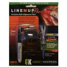 Line M Up Pro Golf Ball Putting Alignment Marker Tool - Mini Black Sharpie