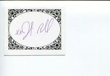Julie Powell Julie & Julia Author Rare Signed Autograph Bookplate