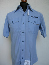 US Navy Board Shirt Feldhemd USN Army Marines USMC WK2 Rockabilly Nose Art M/L