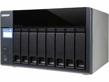 QNAP TS-831X High-performance 8-bay NAS with Built-in 2 x 10GbE (SFP+) Network,
