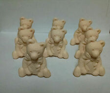 8 Teddy Bear Decorative soaps