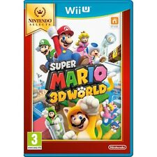 Super mario 3D world jeu Wii U (Selects) brand new