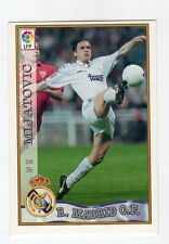figurina card fichas - CALCIATORI CARD LIGA 97/98 1997  - N. 19 MADRID MIJATOVIC