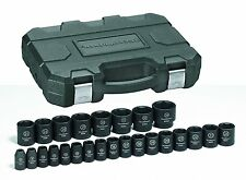"GearWrench 84933N 25 Piece 1/2"" Drive Metric Impact Socket Set"