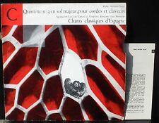 Soler Quintette 3 Germaine Vaucher-Clerc Edmond Appia  Chants classiques Morondo