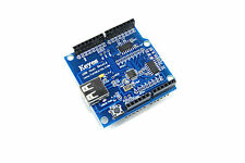 Arduino UNO HOST USB SCUDO ORIGINALE Keyes ICSP Funduino Google ADK Flux Workshop