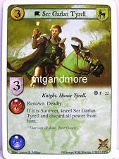A Game of Thrones LCG - 1x ser Garlan Tyrell #022 - Fire and Ice