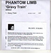 (CS23) Phantom Limb, Gravy Train - 2012 DJ CD