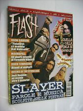 FLASH METAL MAGAZINE #120 - SLAYER - CRADLE OF FILTH - MOONSPELL - IRON SAVIOR